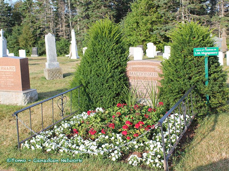 モンゴメリのお墓